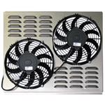 Dual 10 Inch Fan Shroud Combo, 21.75 W x 17.5 H