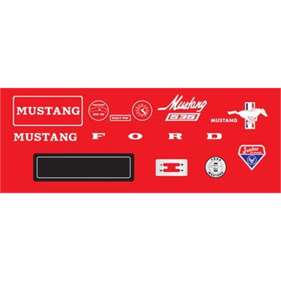 AMF Mustang 1964-72 Graphic