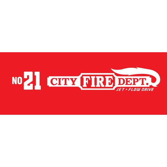 Murray Dip Side City Fire Dept. 1949 Graphic