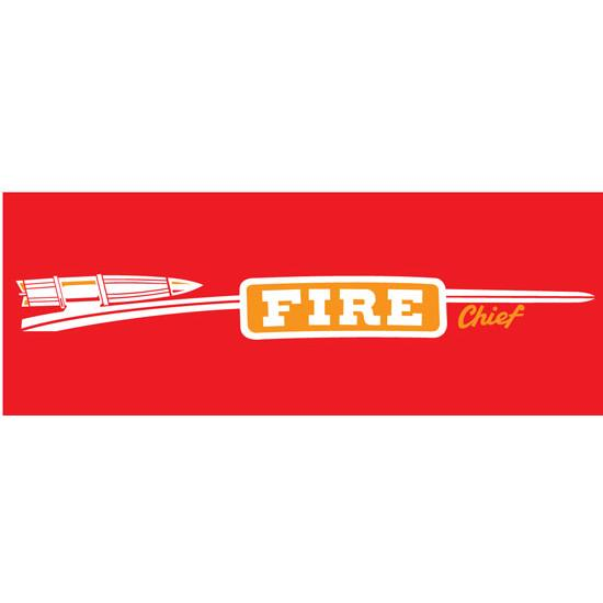 Murray Full Side Fire Chief 1957 Graphic