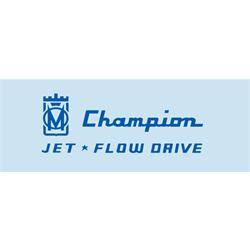 Murray® Full Side Champion Jet Flow Drive Graphic