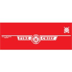 Murray® Flat Face Deluxe Fire Chief 1969-70 Graphic