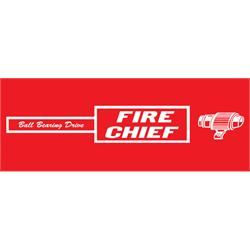 Murray® Tooth Grille Fire Chief Pedal Car Graphic