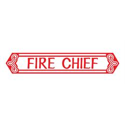 Murray® Tooth Grille 1968-69 Fire Chief Pedal Car Graphic