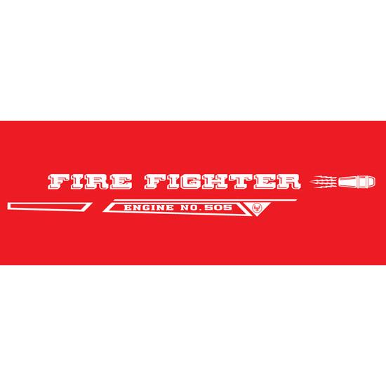AMF Generic Fire Fighter 505 1968-69 Graphic