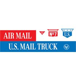 AMF/BMC U.S. Mail Truck Graphic