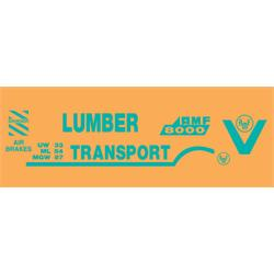 AMF/BMC Lumber Transport Graphic