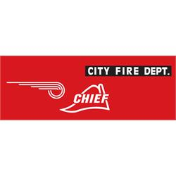 Steelcraft 1941 Fire Chief Graphic