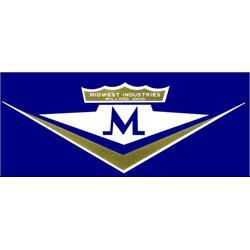 Minwest Industries Studebaker Seat Logo Graphic