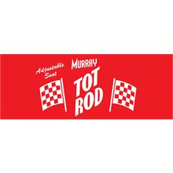 Murray Tot Rod 1961-74 Pedal Car Graphic