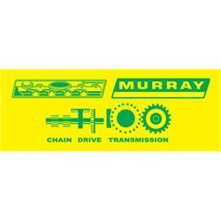 Murray® Tractor 1972 Graphic