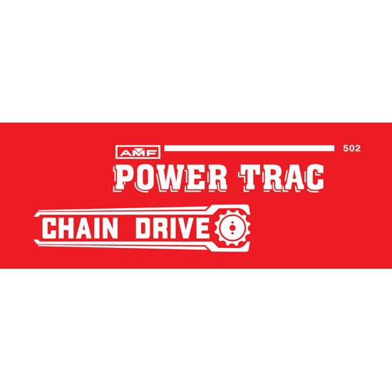 AMF Power-Trac 502 Tractor Graphics