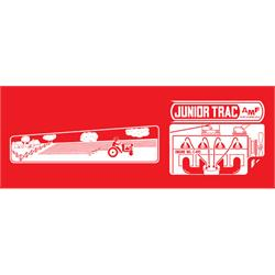 AMF Tractor Junior Trac Tractor Graphic