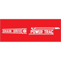 AMF Power-Trac Tractor Graphics