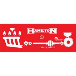 Hamilton Pedal Tractor Graphic