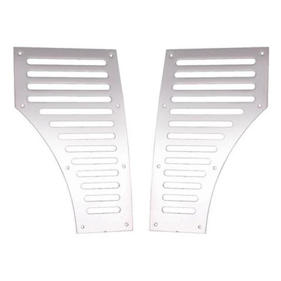 1937-40 Ford Garton Pedal Car Grille, Stainless Steel