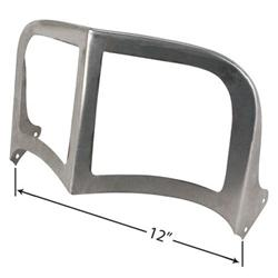 Steelcraft Streamliner Flat-top Windshield