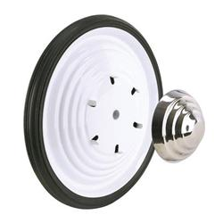 White Powder Coated Wheel and Tire Combos - White Ripple Wheel Kit