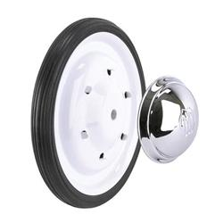 White Powder Coated Wheel and Tire Combos - White Wheel Kit