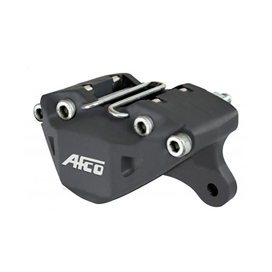 Afco 6630410 Forged Alum F11 Brake Caliper, 1-3/4 Piston/.375 In Rotor