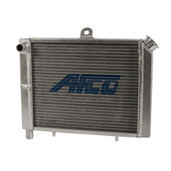 AFCO 80205-1 17 x 12 Inch Cage Mount Double Pass Radiator-1 In Push On