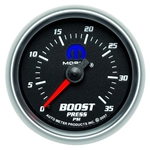 Auto Meter 880011 Mopar Mechanical Boost Gauge, 2-1/16 Inch, 35 PSI