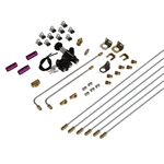 Speedway Universal Brake System Builder Kit - Lines, Fittings, Valves