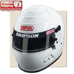 Simpson Vudo Wicker SA10 Racing Helmet