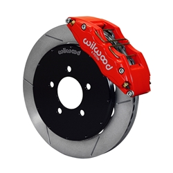 Wilwood 140-13581-R Dynapro 6 Front Disc Brake Kit, 12.88 Inch Rotor, Red