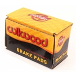 Wilwood 150-12760K 6712 BP-40 Brake Pad Set, Dynapro 6, .49 Inch Thick