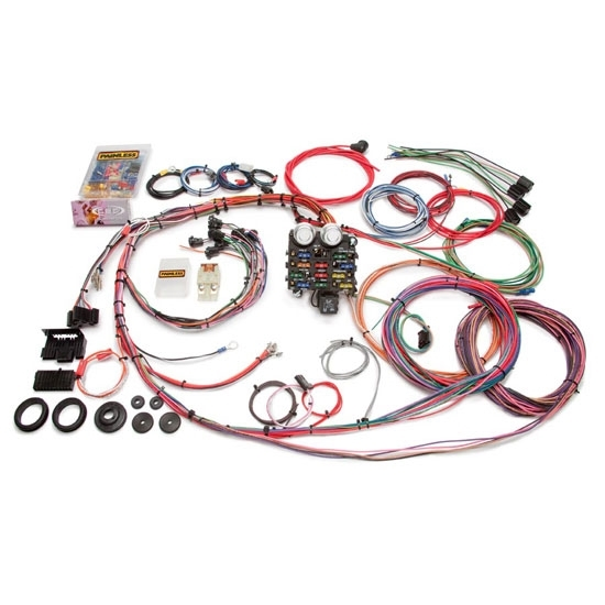 painless wiring 10112 19 circuit wire harness for 1963
