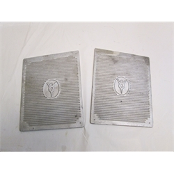 Garage Sale - Ford V8 Step Plates, Raw Finish