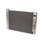 Speedway 31 In. Double Pass Aluminum Racing Radiator, S/B Chevy