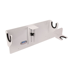 HRP HRP6356-WHT Sprint Car Wheel Wrench Storage Rack