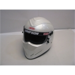 Garage Sale - Simpson Diamondback SA2010 Helmet, Pearl White, Size 7-1/2