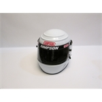 Garage Sale - Simpson Voyager Evolution SA2010 Racing Helmet, White, Size 7