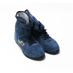 Garage Sale - Speedway Hightop Racing Shoes, Blue, Size 8