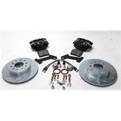 Garage Sale - SSBC W123-25B 1964-74 GM Competition Drum to Disc Beake Coversion, Black