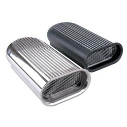 Black Gasser Style Competition Air Scoop for Blown/Tunnel Ram Engine