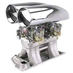 Shotgun Bill's Scoop® B/B Chevy Tunnel Ram Intake/Carb Kit