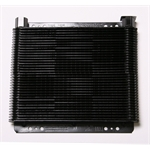 AFCO LH7B Stacked Plate Oil Cooler, 11 x 11 x 1-1/2 Inch, 48-Pass