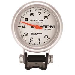 Auto Meter 3707 Ultra-Lite Air-Core Pedestal Tach, 8k RPM, 2-5/8 Inch