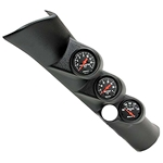 Auto Meter 7092 Z-Series Triple Gauge Pillar Kit, 1998-02 Cummins/Ram
