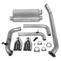 Hooker 16822HKR Cat-Back Exhaust System, Natural Finish