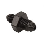 Aluminum Flare Reducer Adapter, Black, -10 AN to -16 AN
