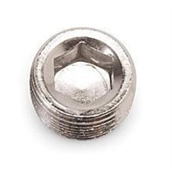 Russell Performance 662051 Endura Finish Aluminum Pipe Plug-3/8 In NPT