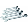 Titan Tools 17351 7-Piece Ratcheting Combination Metric Wrench Set