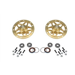Winters Performance D-Mount Aluminum Front Hubs, RH/LH Rotor Mounts