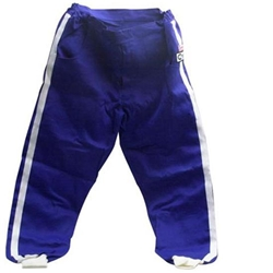 Safety Racing SFI-1 Proban Blue Driver Pants, Size Small