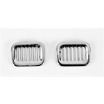 Pedal Car Parts, Murray Dipside/Fullside Tail Lights, Chrome